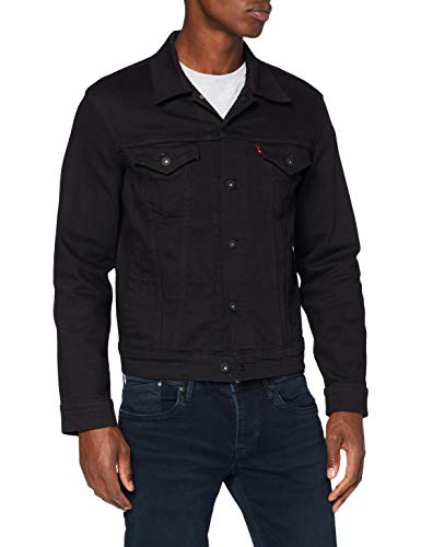 Levi's Herren The Jacket Jeansjacke, Dark Horse Trucker, Medium