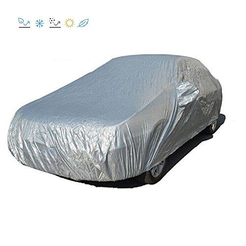 Preisvergleich Produktbild Ukisslove Autoabdeckplane Vollgarage Autohaube Schutzhülle Schmutzabweisend Staubdicht Für Auto