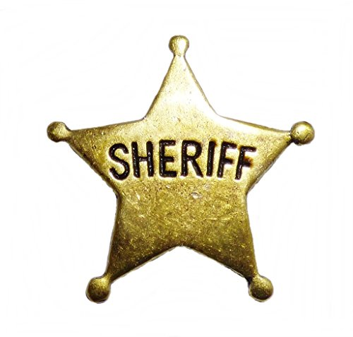 Anstecker Pin Sheriffstern Sheriff The State of Texas Western Country