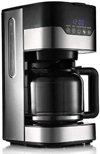 Coffee machines Drip Type Filter Coffee Pot Automatic Tea Maker Tea Machine With Glass Pot 1.5L Large Capacity Clock Anti-drip Coffee Pot Black