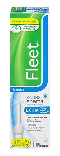 Fleet Enema Adult Extra Single 7.8 oz. (Pack of 3) - Packaging May Vary