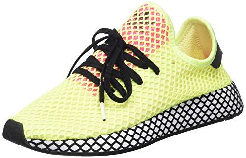 Adidas Deerupt Runner, Zapatillas de Deporte para Hombre, Multicolor (Amalre/Negbás/Rossho 000), 43 1/3 EU