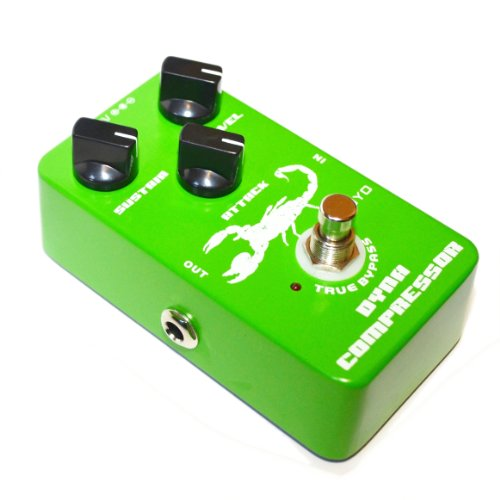 JOYO JF-10 Dynamic Compressor Pedal with Very Low Noise re-Creation the Classic Ross Compressor for Electric Guitar & Bass True Bypass