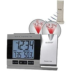 BananaBus WT-5220U-IT Atomic Projection Alarm Clock with TX37U-IT Nib