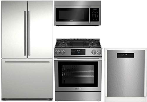 Blomberg 4-Piece Kitchen Appliances Package with...