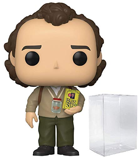Bob Wiley with Book #995 Pop Movies: What About Bob Vinyl Figure (Includes Ecotek Pop Box Protector Case)