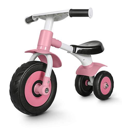 besrey Bicicletta Senza Pedali,Bici Senza Pedali per Bambini da 1 Anno a 2 Anni (10-24 Mesi),Balance Bike Baby,Bicicletta Equilibrio,Rosso