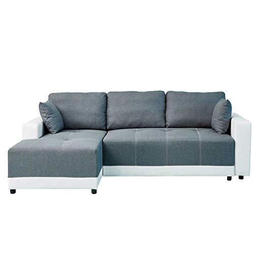 Sofá cama de la sala de estar Sofá cama de 3 plazas con respaldo ajustable Sofá cama plegable convertible sofá cama multifunción para sala de estar sofá cama para dormitorio dormitorio oficina,B