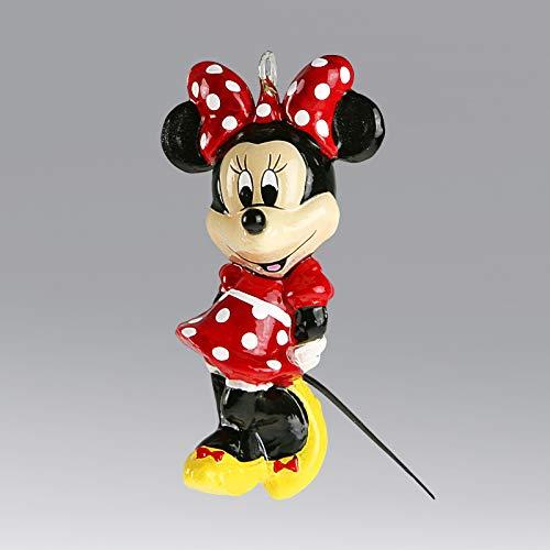 Komo Christbaumschmuck-Weihnachtskugel Disney, Minnie, 10 cm