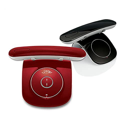 Moderno Teléfono Fijo Inalámbrico con Gran Pantalla Retroiluminada, Funciones de Manos Libres y Bloqueo de Llamadas Teléfono Inalámbrico Aux