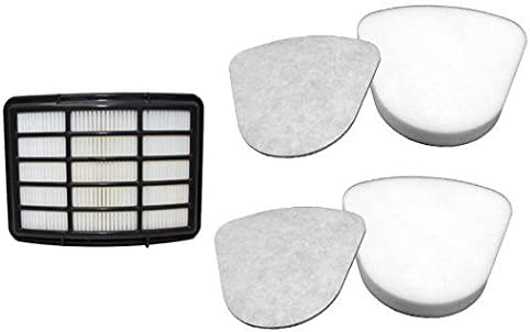 SMARTIDE vacuum filter for Shark Navigator Lift-Away Nv350 Nv351 Nv352 Nv355 Nv356 Nv357, 2 Pre-Felt + 1 Hepa Filter ...