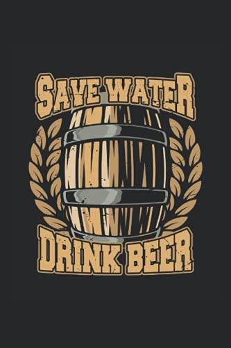 save water drink beer: Hangman Puzzles | 110 Game Sheets | Mini Game | Clever Kids | 6 x 9 in | 15.24 x 22.86 cm | Single Player | Funny Great Gift