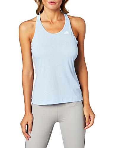 adidas Prime 3S Tank Camiseta De Tirantes, Mujer, azubri, XS