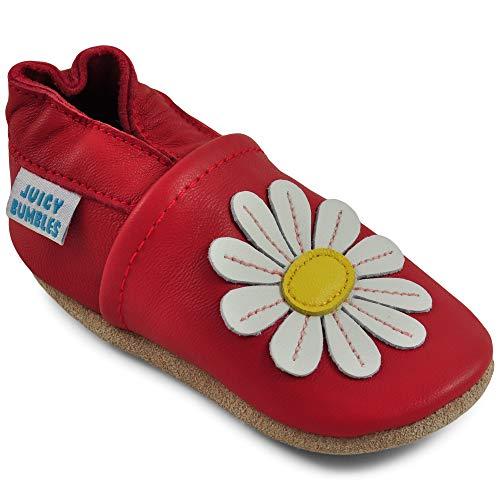 Kruipschoenen Babyslofjes Babyschoentjes met Zachte Zooltjes - Schoentjes voor Meisjes - Schoentjes voor Jongens - Leren Peuterschoentjes - Loopschoentjes voor Baby's