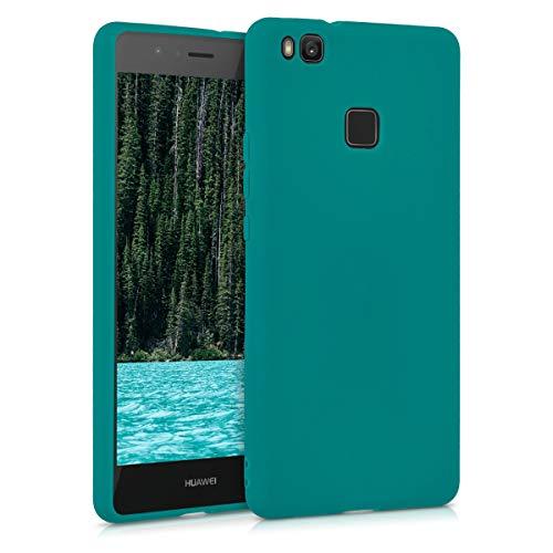 kwmobile Hülle kompatibel mit Huawei P9 Lite - Handyhülle - Handy Case in Petrol matt