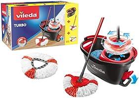 Vileda Easy Wring & Clean TURBO Set Complet Pack Special Seau rotatif + Balai