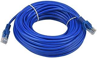 Computer Cables Yoton CAT-7 10 Yoton Ethernet Ultra Flat Patch Cable for Modem Router LAN Network Cable Length: 8m, Color: Black