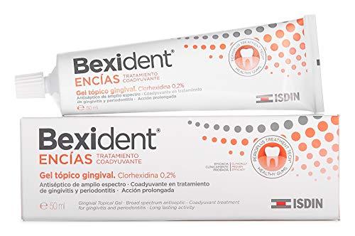 Isdin Bexident Encías Tratamiento Coadyuvante Gel Tópico Gingival, Clorhexidina 0,2%  1 x 50 ml