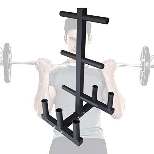 DAGCOT Multi-función de levantamiento de pesas Gimnasio en casa de Peso soporte...