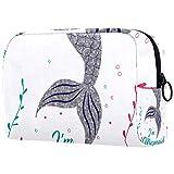 Bolsa de maquillaje de dibujos animados bolsa de cosméticos impresa artículos de tocador bolsas de viaje bolsas de cosméticos para mujeres mariposas voladoras
