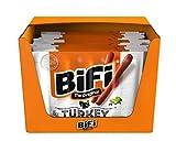 BiFi Turkey – 20er Pack (20 x 5 x 20 g) – herzhafter Truthahn–Salami Fleischsnack