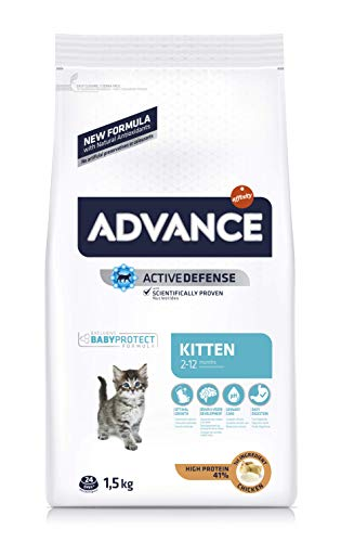 ADVANCE Pienso para Gatitos Kitten - 1,5kg ✅