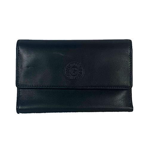 Kipling Small Leather Goods Mathis Large Wallet (Black)