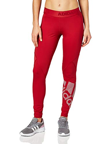 adidas Ask L Bos T Damen-Leggings XL rot