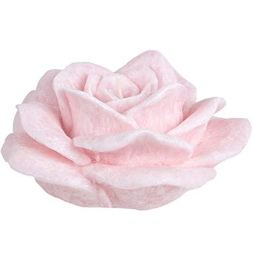 holzalbum Rosenkerze Stearin Rosa grose Rosen Duftkerze ätherische Bio Öl Rosenduft Kerze