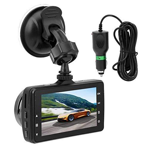 WGFGXQ Car Dash CAM Cámara De Video para Automóvil HD Car Dash CAM 140 ° 1080P 3 Pulgadas IPS Mini Cámara USB Grabadora De Automóvil
