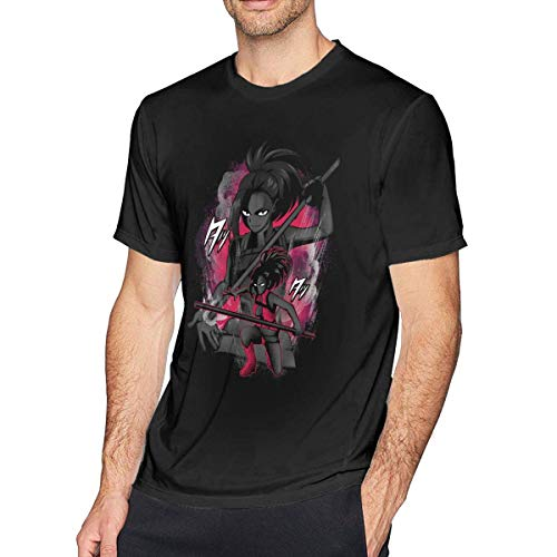 uji Boku No Hero Academia - Iida Tenya Men's Cotton Fabric Short Sleeve T-Shirt Camisetas y Tops(X-Large)
