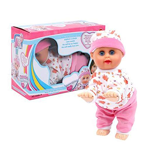 Crawling Doll Safe Langlebiges Elektrisches Puppenspielzeug Lernen Von Lernspielzeug Für Kinder