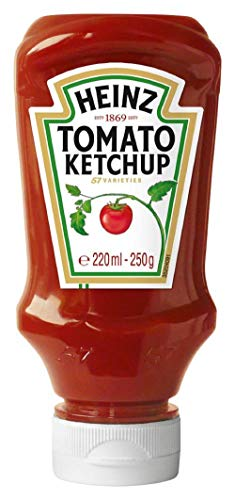 Heinz Tomato Ketchup, 10er Pack (10 x 220 ml)