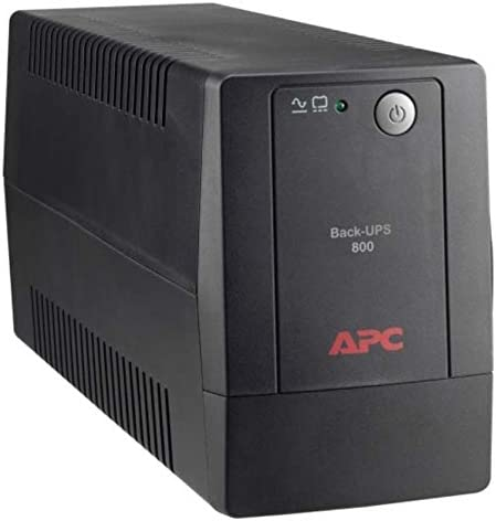 APC Battery Backup with Surge Protection BX800L-LM 800VA 120V AVR, LAM