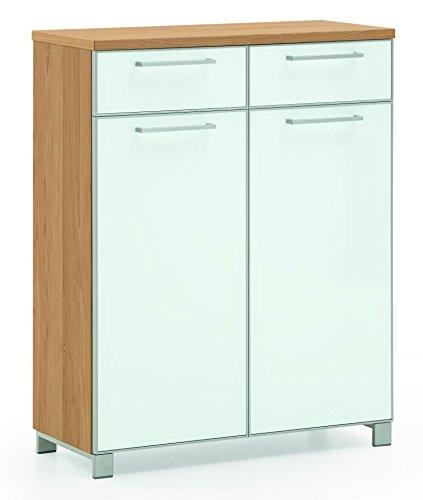 Voss-Möbel Schuhschrank SANTINA 84x108x37cm in der Farbe Optiweiß