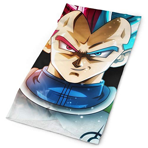 Dragon Ball Z Vegeta Changeable Scarf Neck Warmer Decorate Face Cover