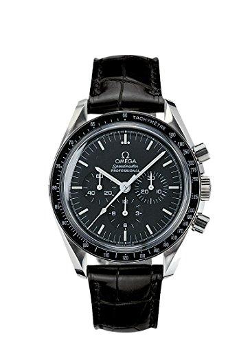 Omega Herren-Armbanduhr Chronograph Automatik Kautschuk 31133423001002