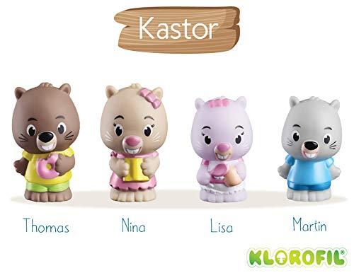 Klorofil- Famille Kastor Personnages À Collectionner, 700303, Multicolore