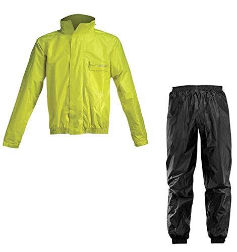 Acerbis Regenanzug teilbar Logo schwarz-gelb (L)