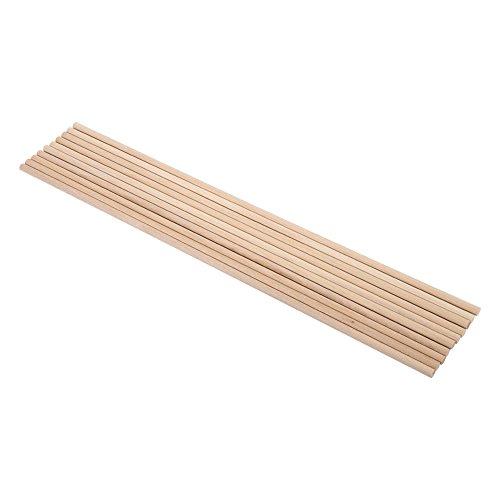 10 Stücke 30 cm Lange DIY Holz Handwerk Stöcke Kleine Holzbau Stöcke(5MM*30CM)