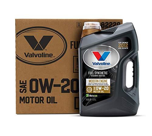 Valvoline - 882229-CS Modern Engine SAE 0W-20 Full Synthetic Motor Oil 5 QT, Case of 3