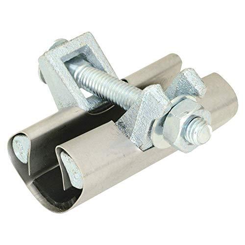 Eastman 45181 Pipe Repair Clamp, 1/2 inch IPS, 3 inch Length, 1/2', Silver