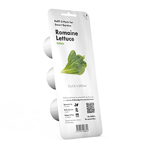 Click and Grow Smart Garden Romaine Lettuce Plant Pods, 3-Pack