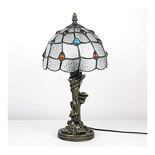 DIMPLEYA Lámpara de Mesa Tiffany lámpara de Noche lámpara