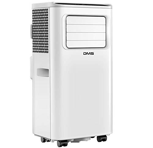 DMS® 3 in 1 mobiles Klimagerät | Klimaanlage | Ventilator | Luftentfeuchter | Räume bis 35 m2 | Fernbedienung | 24h Timer | Nachtmodus | 7000 BTU/h |