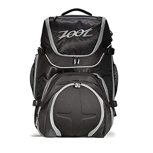 Zoot Rucksack Ultra Tri Bag, black/Silver, 58.5 x 33 x 26 cm