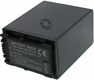 Otech Batterie kompatibel für Sony FDR AX33