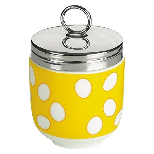 Bia DRH Egg Coddler/Egg Poacher, Yellow Spotty - 990112G+1570 by