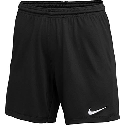 Nike Womens Park III Shorts Black M