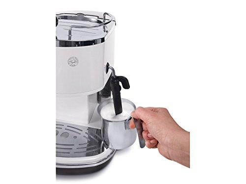 DeLonghi Eco 311 – Cafetera automática, 1100 W, 1.4 L, color plateado